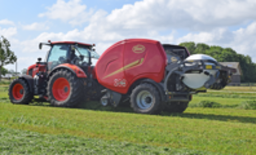 FastBale features at Grass Field days in Denmark
