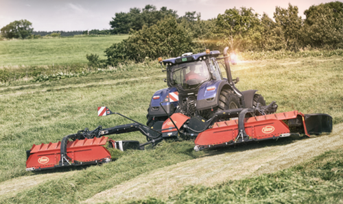10.2m versatile QuattroLink mower with easy controls